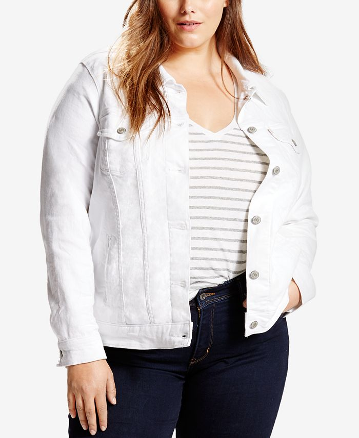 Levi's - Plus Size Denim Trucker Jacket