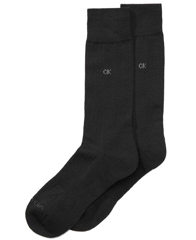 Calvin Klein Men's Ultra-Fit Cushioned Socks