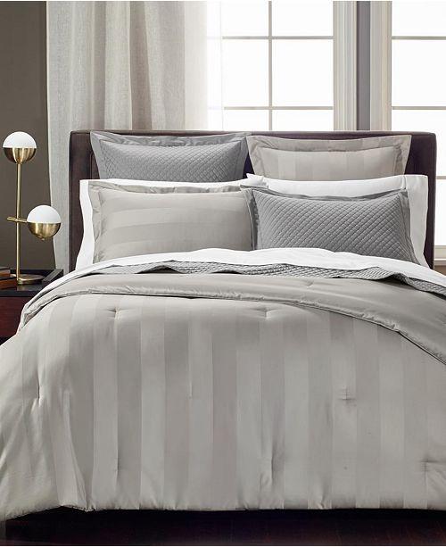 Charter Club Reversible Comforters, 550 Thread Count 100% Supima