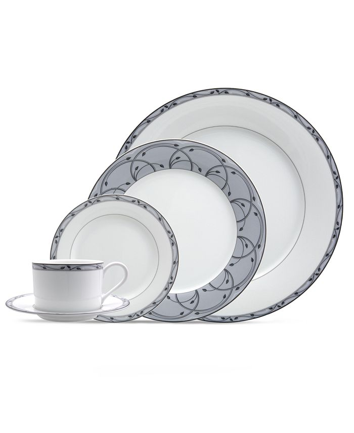 Nikko - Perennial Gray 5-Piece Place Setting