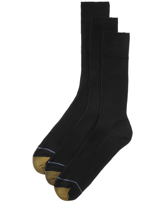 Gold Toe - ADC Canterbury 3 Pack Crew Dress Socks
