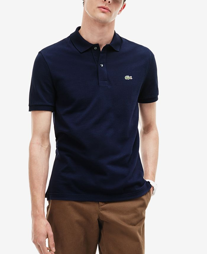Lacoste - Men's Classic Fit Piqué Polo Shirt, L.12.12