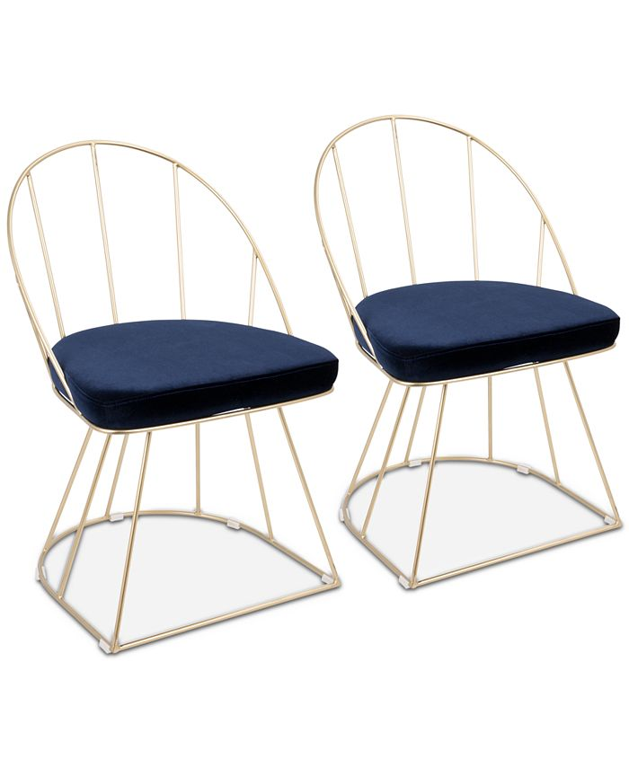 Lumisource - Canary Dining Chair (Set of 2), Quick Ship
