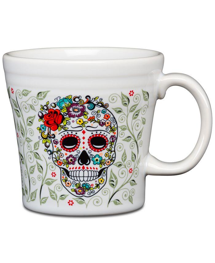 Fiesta - Skull and Vine Sugar Tapered Mug