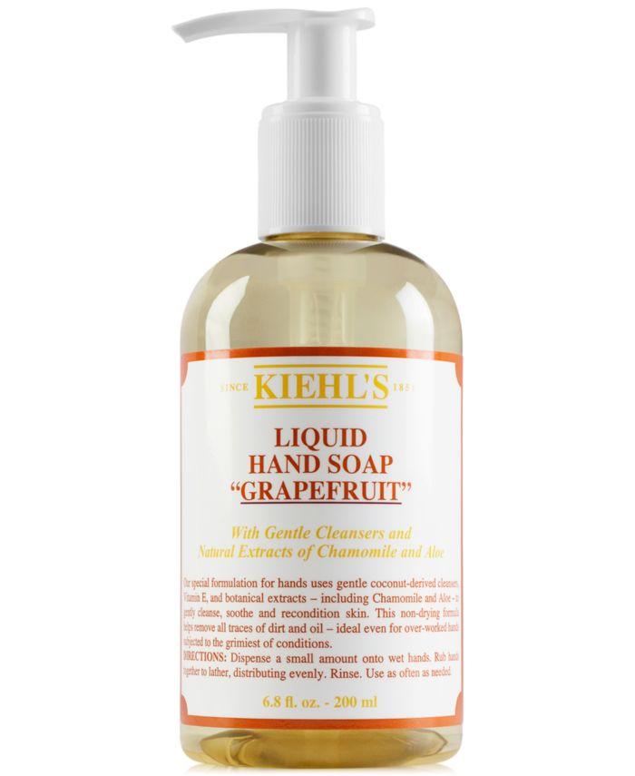 Kiehl's Since 1851 Liquid Hand Soap - Grapefruit, 6.8 fl. oz. & Reviews - Shop All Brands - Beauty - Macy's