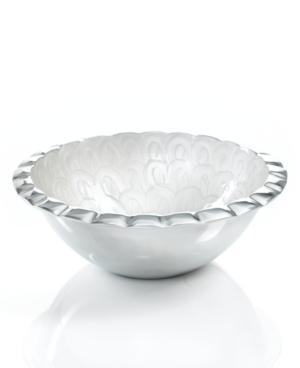 Simply Designz Serveware, Ivory Fluted Salad Bowl