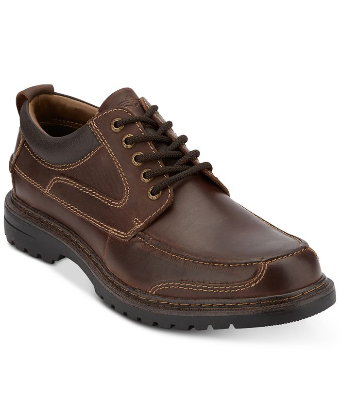 Dockers - Men's Overton Moc-Toe Leather Oxfords