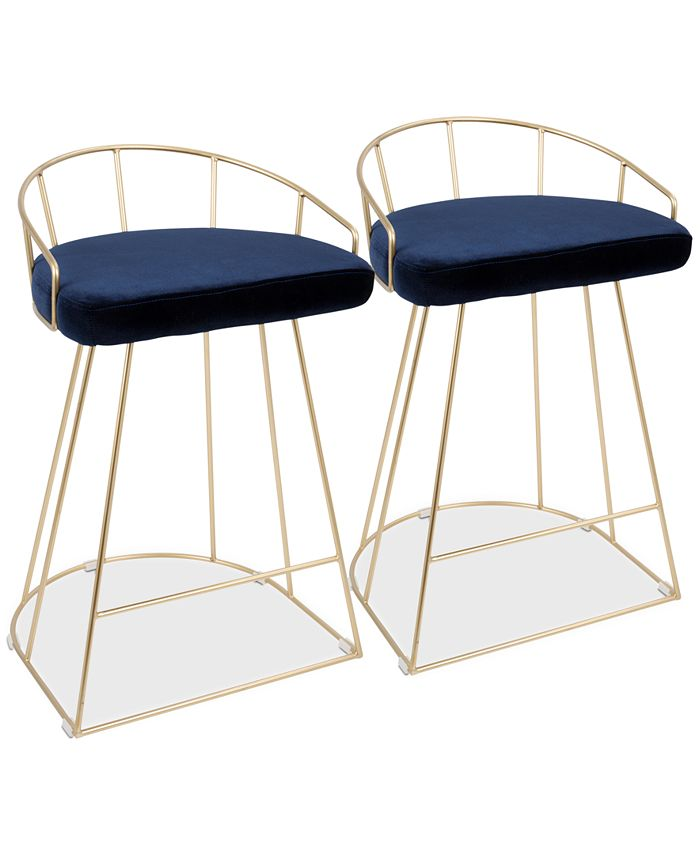Lumisource - Canary Counter Stool (Set of 2), Quick Ship