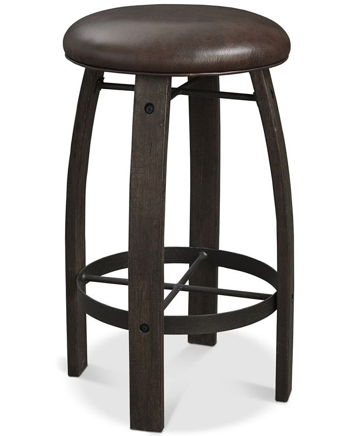 Furniture - Brewing Collection Whiskey Barrel Bar Stool