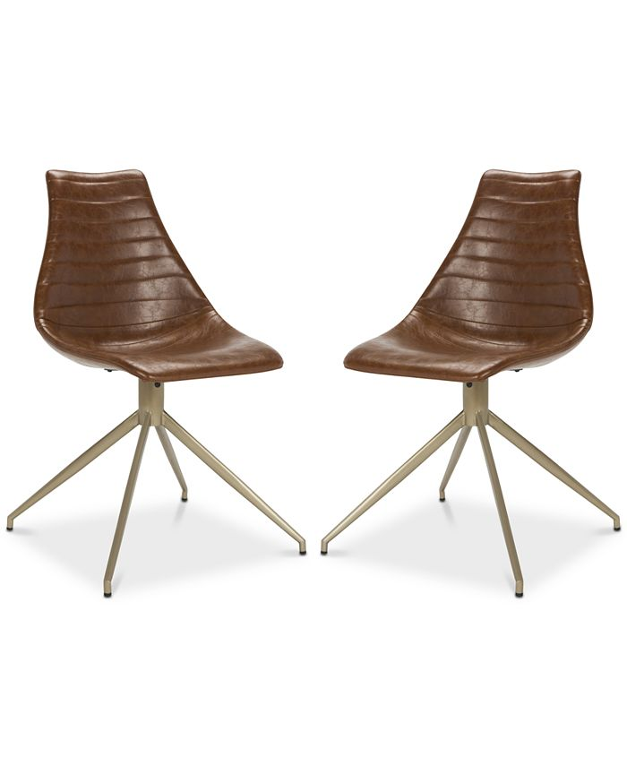 Safavieh - Abbe Dining Chair (Set Of 2), Quick Ship
