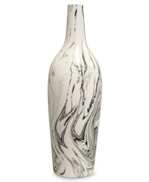 Howard Elliott Vase, Large Drizzled Glaze Ceramic