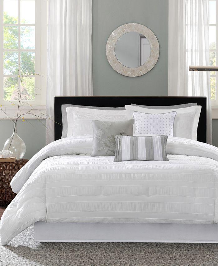 Madison Park - Hampton 7-Pc. Queen Comforter Set