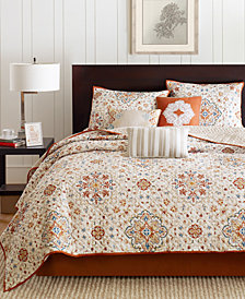 Madison Park Tissa 6-Pc. Full/Queen Coverlet Set