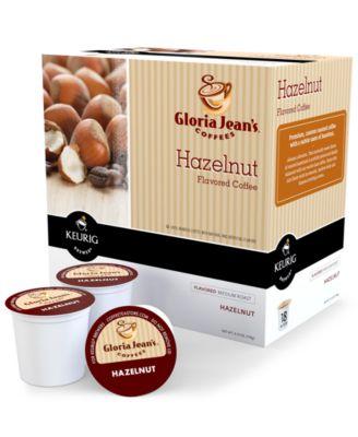 Keurig K-Cup Portion Packs, Gloria Jean's Hazelnut