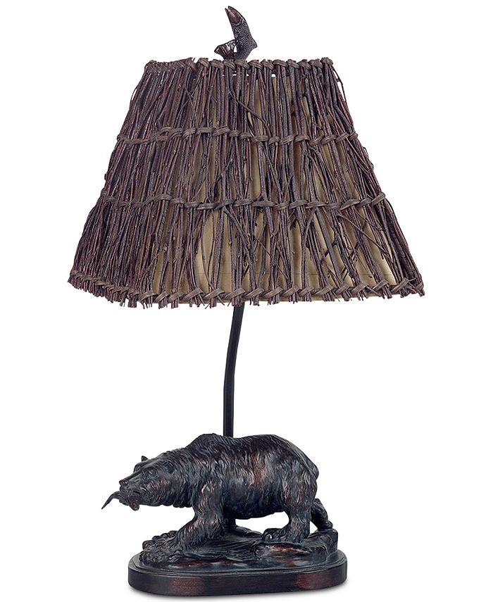 Cal Lighting - 60W Resin Bear Accent Lamp