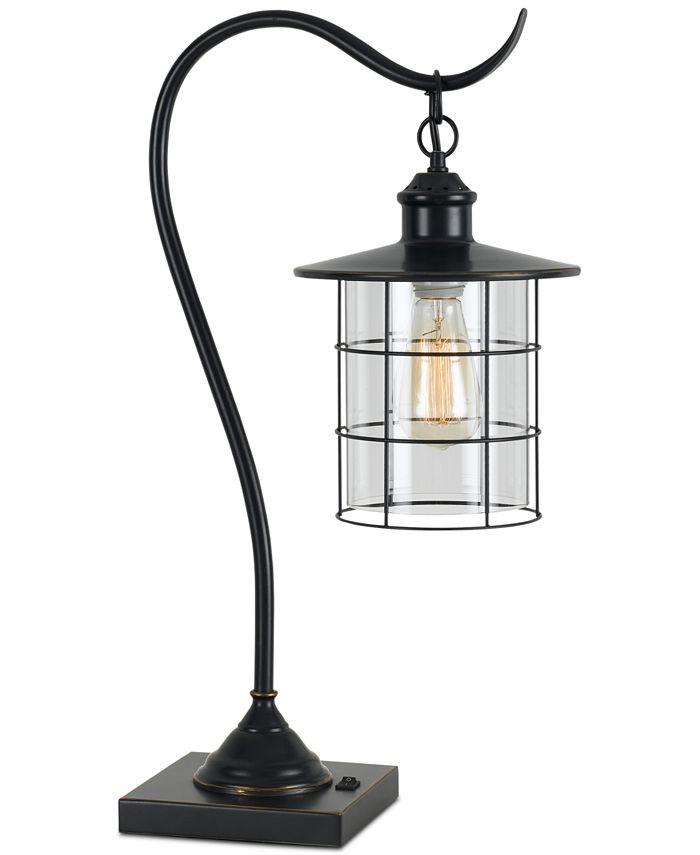 Cal Lighting - 60W Silverton Desk Lamp