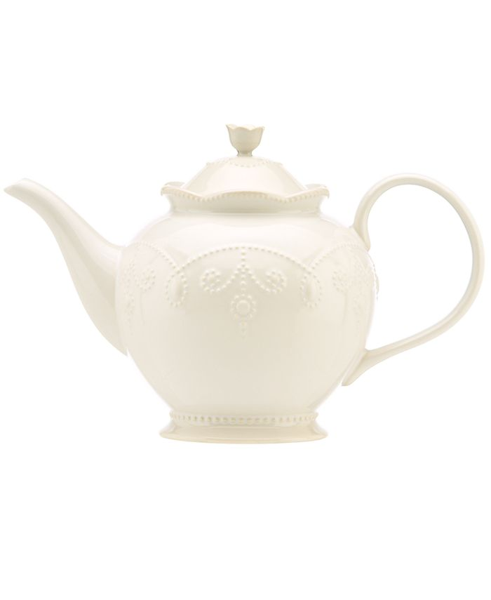 Lenox - French Perle White Teapot