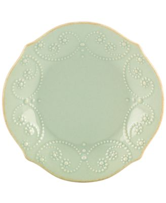Lenox Dinnerware, French Perle Ice Blue Tidbit Plate