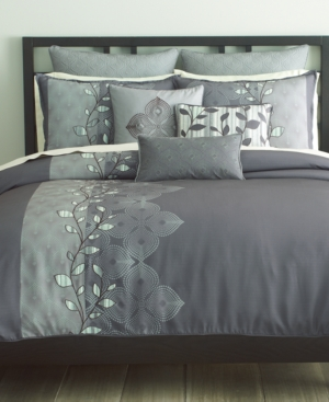 Bryan Keith Bedding, Oxford 9 Piece California King Comforter Set Bedding