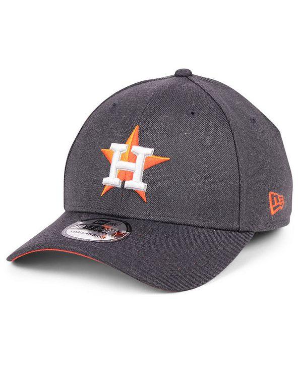 New Era Houston Astros Charcoal Classic 39THIRTY Cap
