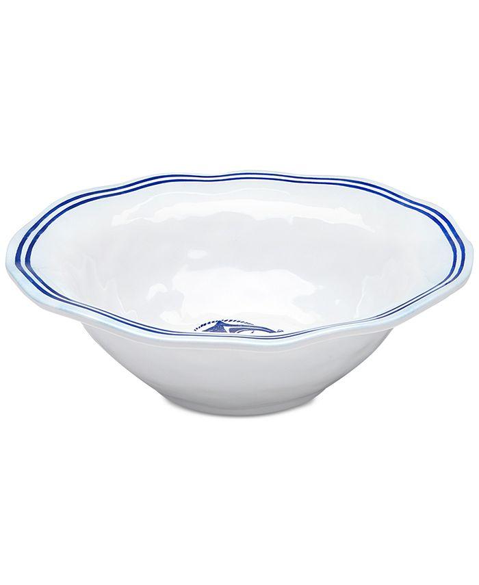 """Q Squared - Portsmouth 12"""" Melamine Serving Bowl"""