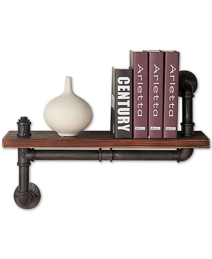 "Armen Living - Montana 24"" Wall Shelf, Quick Ship"