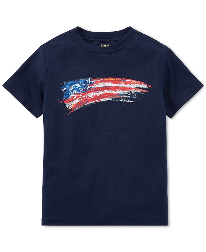 Polo Ralph Lauren - Cotton Jersey Graphic T-Shirt, Little Boys