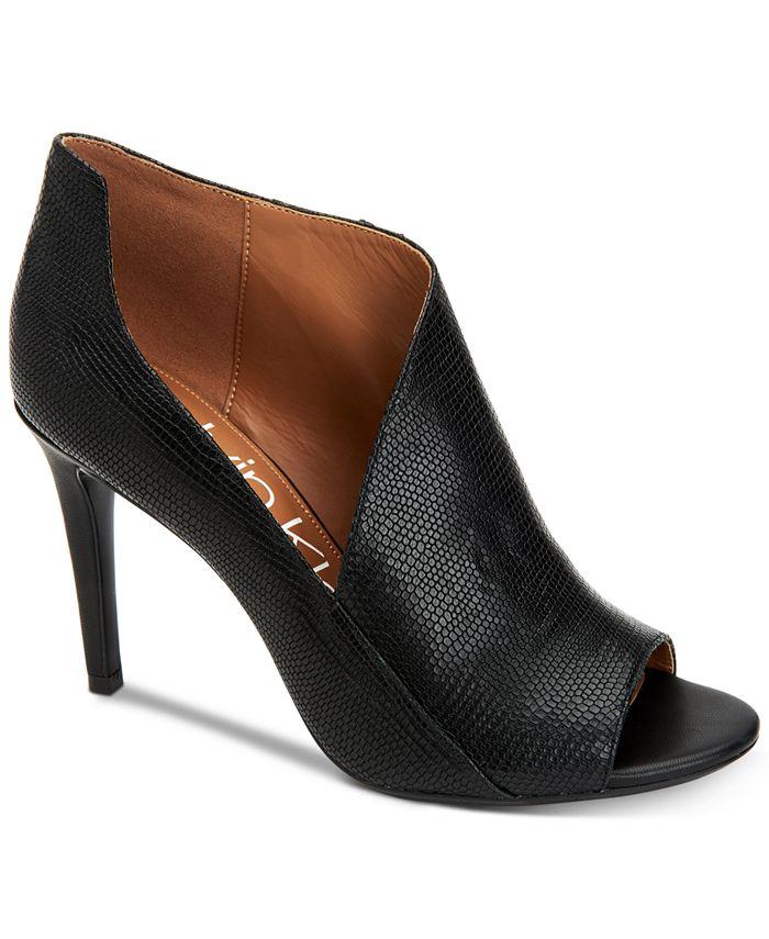 Calvin Klein - Women's Nastassia Ankle Booties