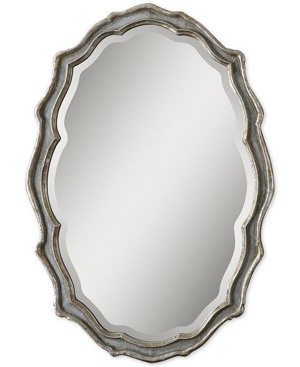 Uttermost Dorgali Slate Blue Mirror