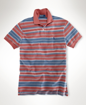 Polo Ralph Lauren Big and Tall Shirt, Classic Fit Striped Polo