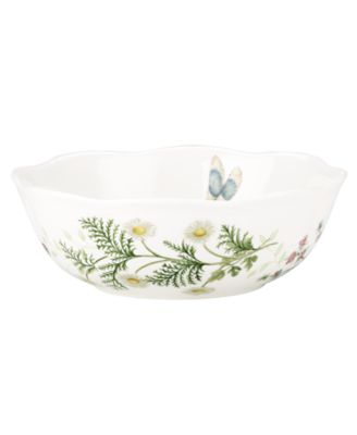Lenox Dinnerware, Butterfly Meadow Herbs All Purpose Bowl