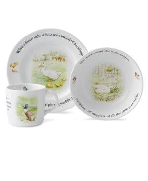 Wedgwood Dinnerware, Jemima Puddleduck 3 Piece Set
