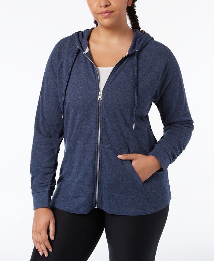 Calvin Klein - Plus Size Textured Hoodie