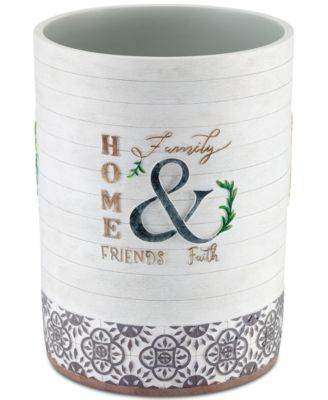 Modern Farmhouse Wastebasket