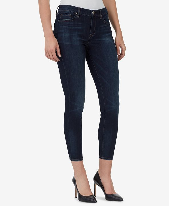 WILLIAM RAST Mid-Rise Ankle Skinny Jeans