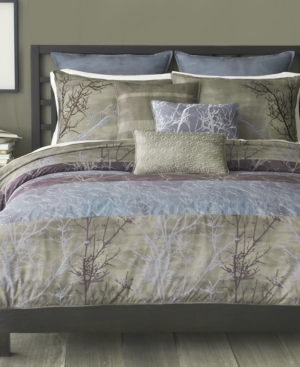Bryan Keith Bedding, Grove 9 Piece California King Comforter Set Bedding