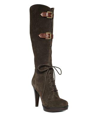 GUESS Women 39s Shoes Karsten Platform Boots Web ID 599891