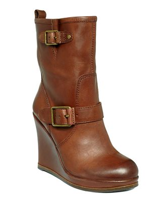 lucky brand tatum wedge boots shoes macy s