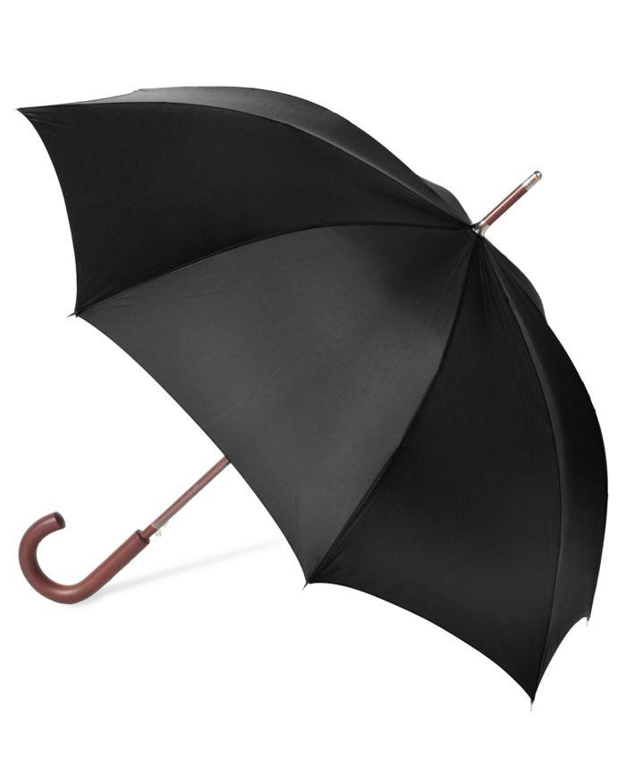Kashkore: Macy's Totes Auto Wooden Stick Umbrella