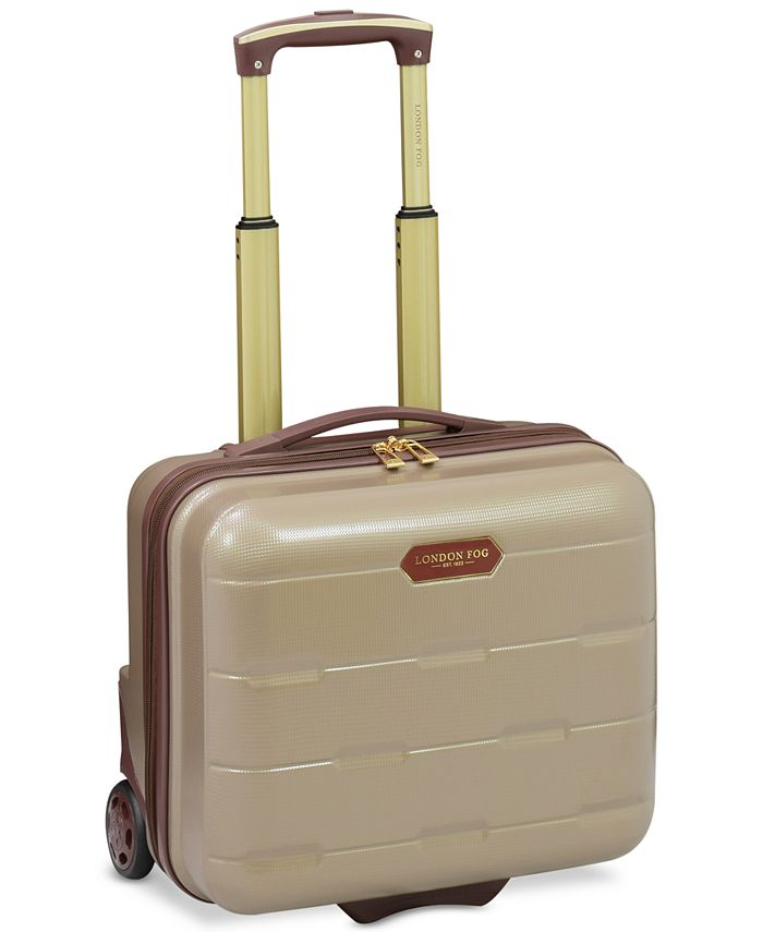 "London Fog - Brentwood 15"" Hardside Under-Seater Carry-On Suitcase"