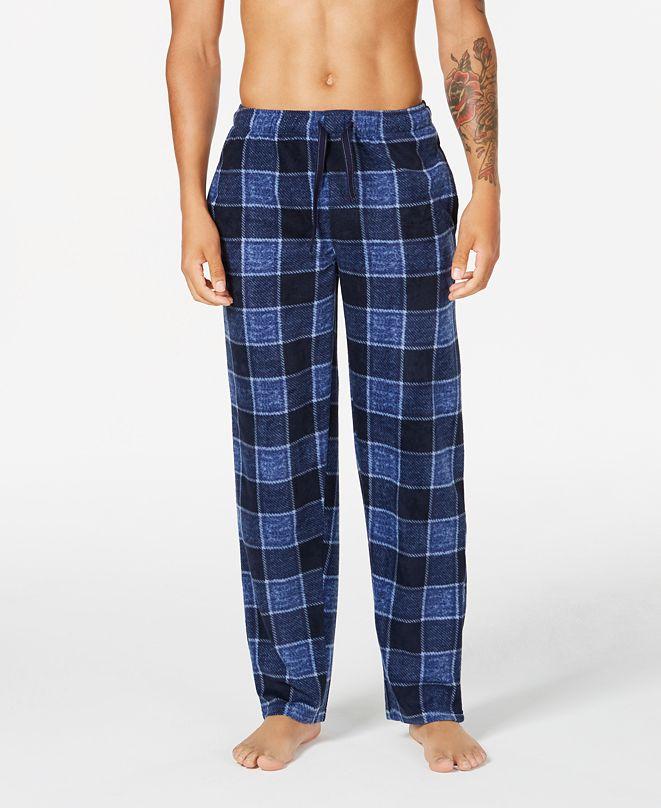 Perry Ellis Men's Fleece Pajama Pants