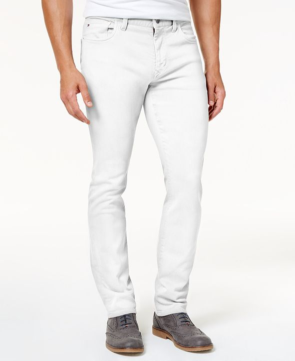 Tommy Hilfiger Tommy Hilfiger Men's Straight-Fit Jeans, Created for Macy's