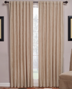 "Beacon Looms Window Treatments, Austin Faux Suede Panel 56"" x 84"" Bedding"