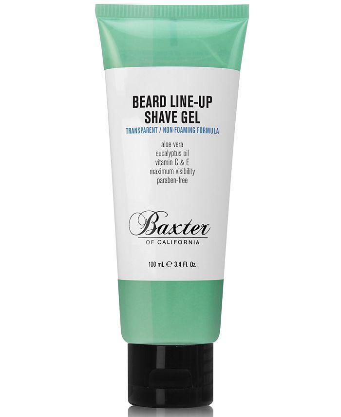 Baxter Of California - Baxter Beard Line-Up Shave Gel, 3.4 fl. oz.