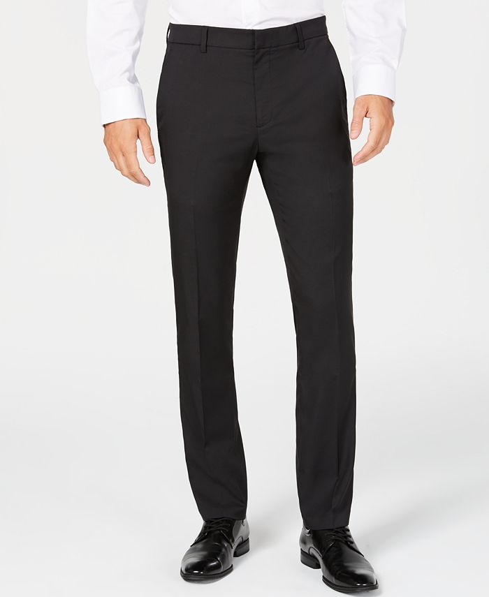 Alfani - Men's Classic-Fit Stretch Pants