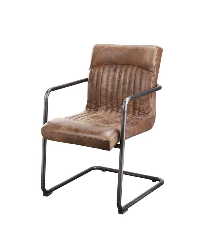 Moe's Home Collection - ANSEL ARM CHAIR LIGHT BROWN-SET OF TWO