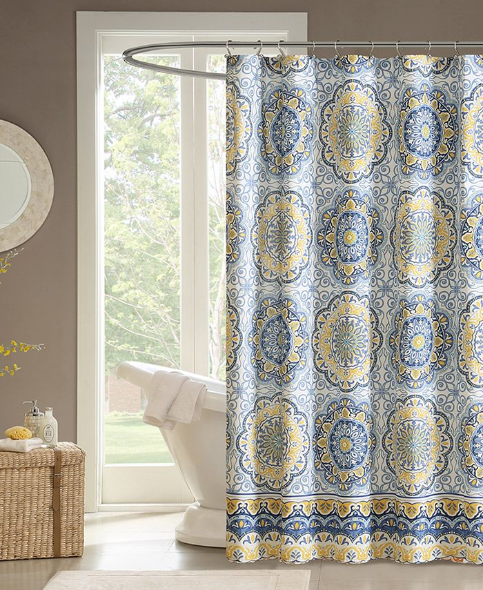 """Madison Park - Tangiers 72"""" x 72"""" Shower Curtain"""