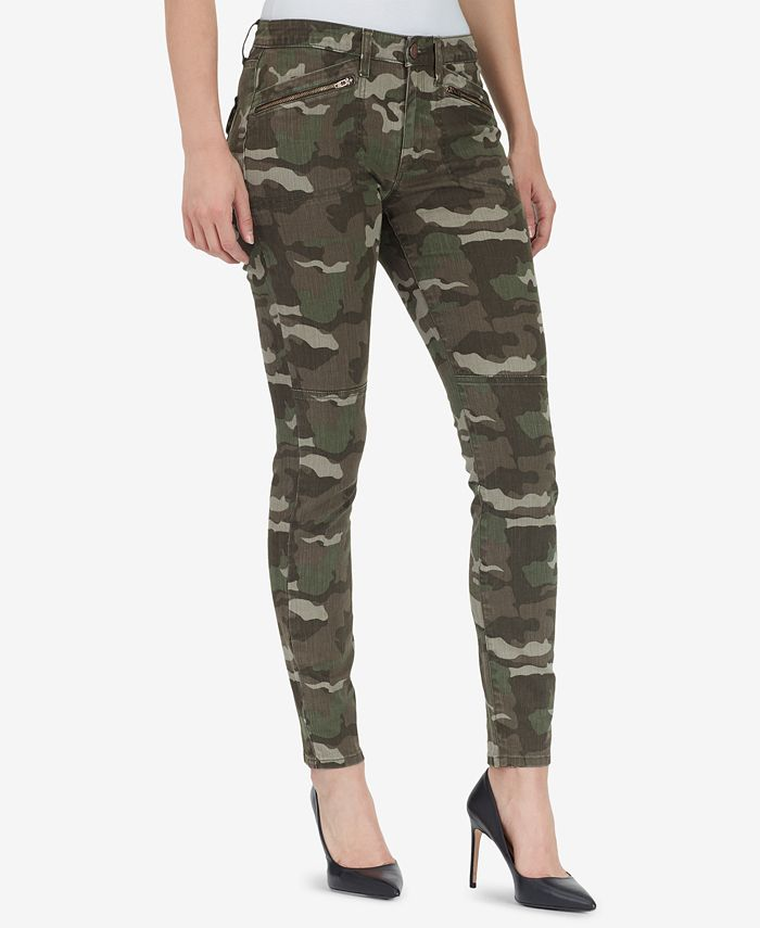 WILLIAM RAST - JANE Skinny Camo Cargo Pants