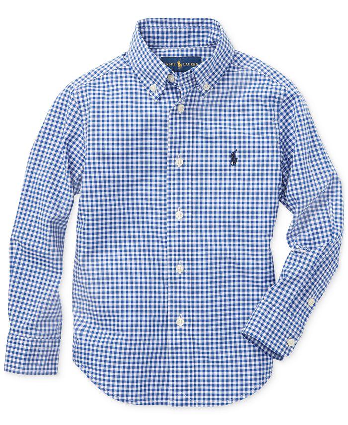 Polo Ralph Lauren - Toddler Boys Cotton Poplin Sport Shirt