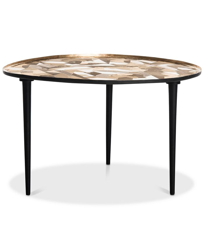Safavieh - Hera Oval Side Table, Quick Ship